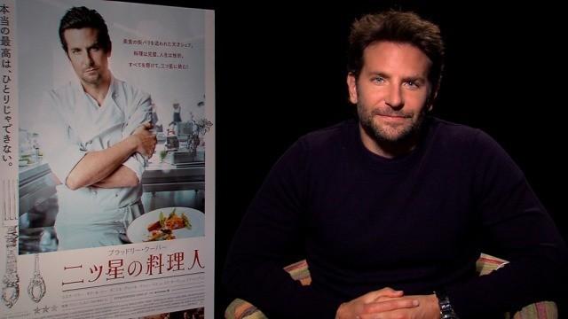 天才シェフ役のブラッドリー・クーパー断言!「二ツ星の料理人」は見ると必ず空腹になる映画