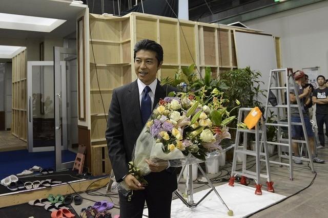 上川隆也、ドラマ「沈まぬ太陽」クランクアップに感無量!