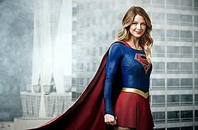 ナショナル・シティで スーパーマン&スーパーガールが対面!「スーパーガール」