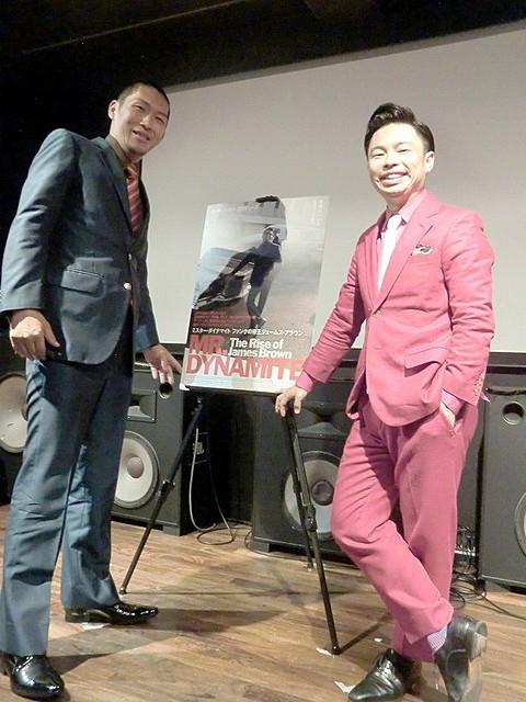 ファンクの帝王ジェームス・ブラウンは「想像を超える一匹狼」 中田亮、浜野謙太がトーク