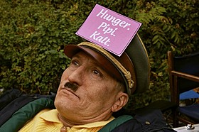 コミカルな姿が描かれる「帰ってきたヒトラー」