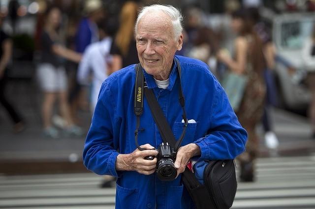 ニューヨークのファッション写真家ビル・カニンガム氏が死去