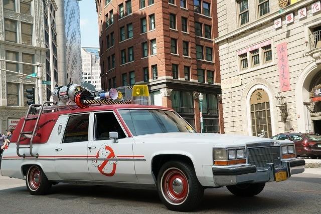 ゴーストバスターズ気分が味わえる!米国にエクト1型タクシー登場