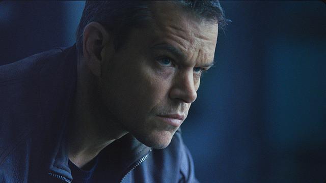 「ジェイソン・ボーン」で主人公を演じるマット・デイモン