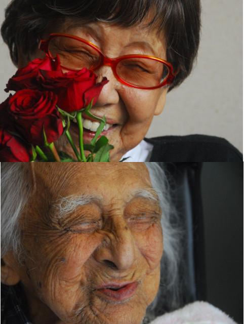 101歳の男女ジャーナリストの生き様に迫るドキュメンタリー「笑う101歳×2」公開決定
