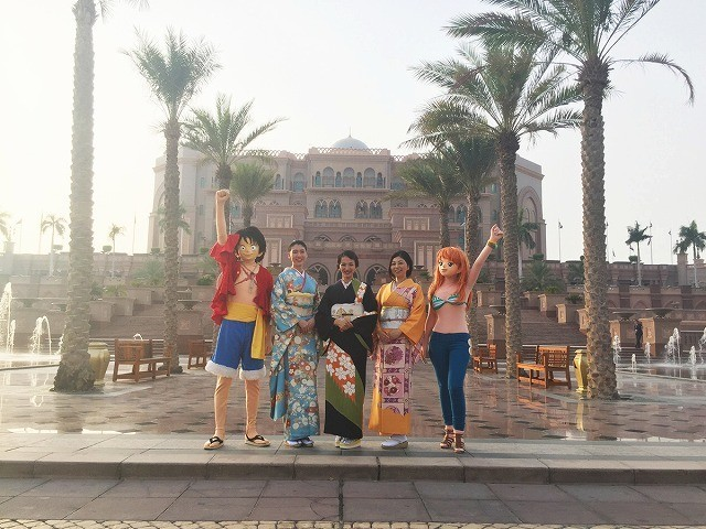 「ONE PIECE」最新作、UAE・アブダビでプレミア上映!満島ひかりら登場に1000人熱狂