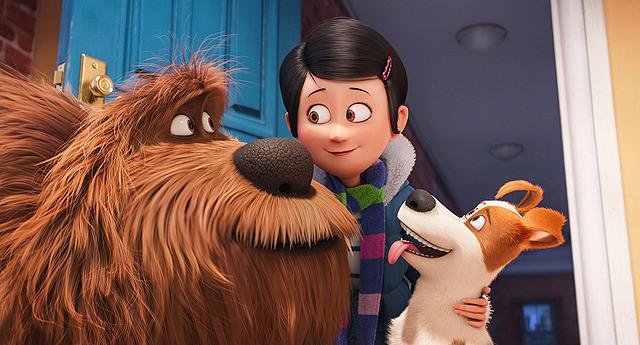 【全米映画ランキング】3Dアニメ「ペット」がV2。女性版「ゴーストバスターズ」は2位デビュー