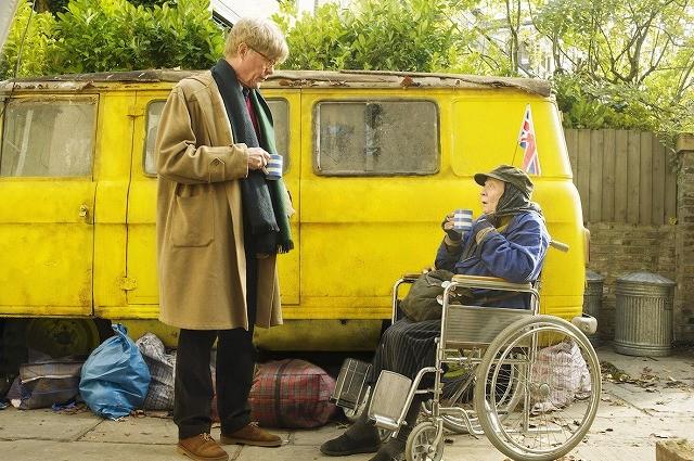 名女優マギー・スミスがホームレスを演じる「ミス・シェパードをお手本に」12月公開