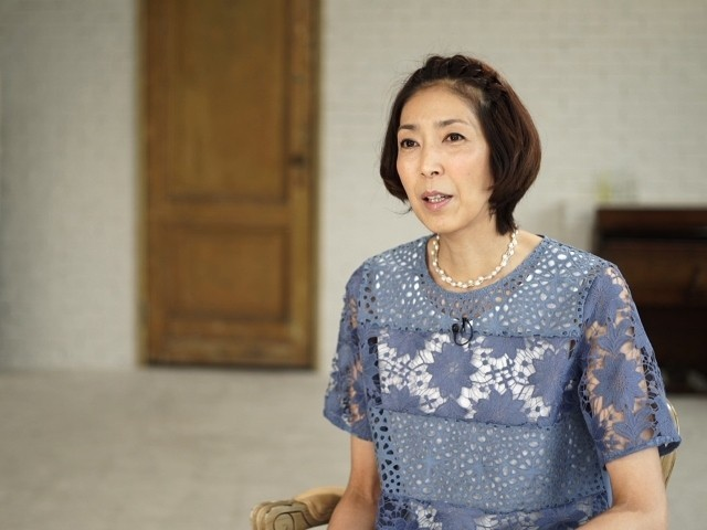 女優業への思いを語る大林素子