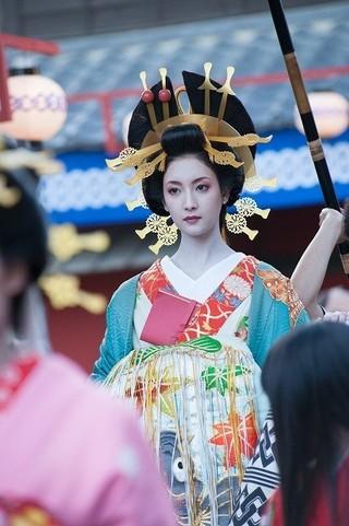 菜々緒、魔性の花魁姿を初披露!松山ケンイチ×早乙女太一「ふたがしら2」に出演