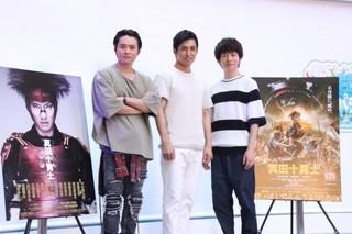 舞台版の初演から作品を引っ張ってきた3人「轟轟戦隊ボウケンジャー THE MOVIE 最強のプレシャス」