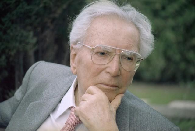 オーストリアの精神科医・ 心理学者ビクトール・フランクル
