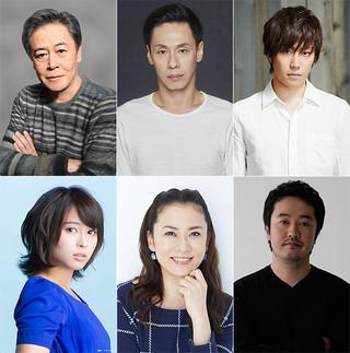 赤堀雅秋の新作舞台「世界」に出演するキャスト陣「葛城事件」