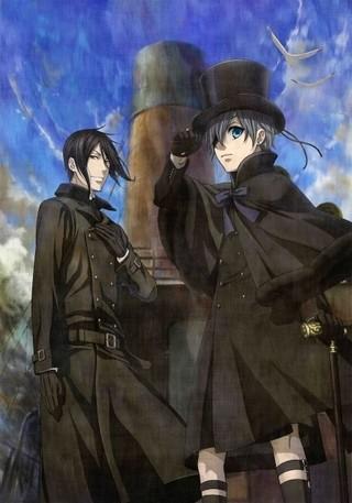 劇場版アニメ「黒執事」17年1月21日公開!ティザービジュアル完成