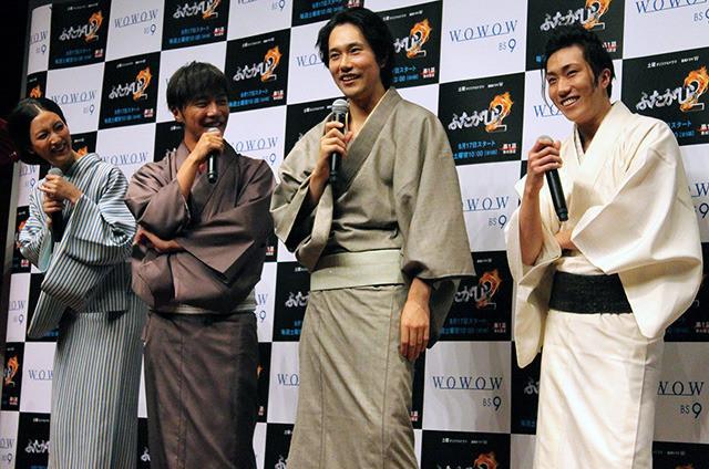 松山ケンイチ「子どもがクギづけになった」菜々緒の入浴シーンを絶賛
