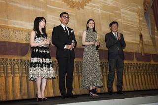 中井貴一&長澤まさみ&志田未来、モントリオール映画祭史上初めて馬車で登場!