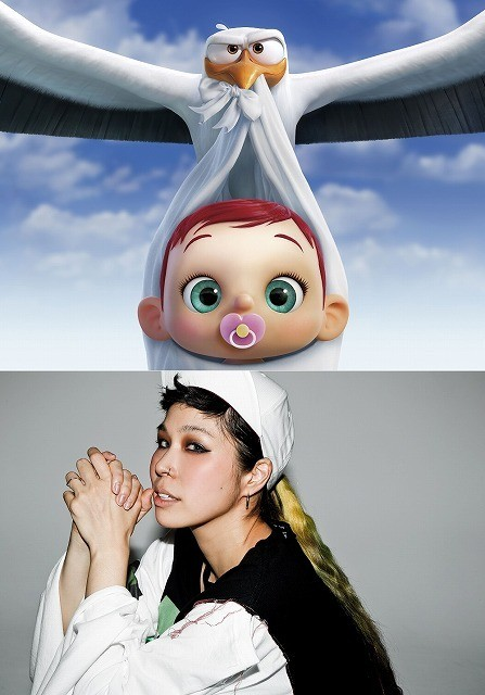 AI、産後初シングルが「コウノトリ大作戦!」日本語吹替え版主題歌に 愛娘への思い歌う
