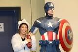 吉田沙保里、理想の男性はキャプテン・アメリカ 腕組みデートを妄想