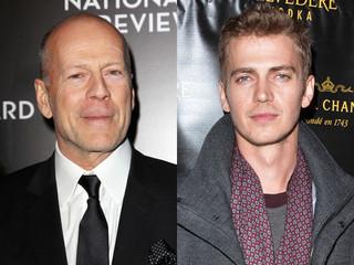 ブルース・ウィリスとヘイデン・クリステンセンが新作スリラーで共演