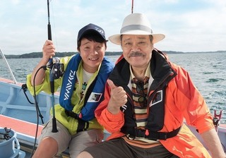 ドラマシリーズ初の地方ロケを敢行!「釣りバカ日誌」