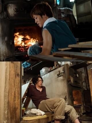 """松坂桃李が""""銭湯店主""""オダギリジョーに弟子入り?「湯を沸かすほどの熱い愛」メイキング映像公開"""