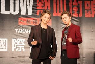 TAKAHIRO&登坂広臣、台湾上陸!「HiGH&LOW」プレミアにファン1000人集結