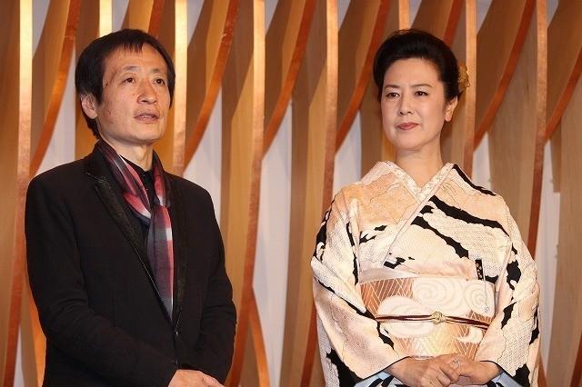アンバサダー名取裕子(右)と総合プロデューサーの奥山和由