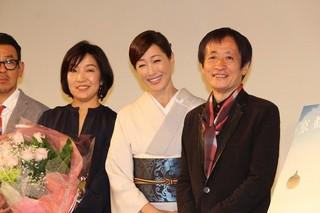高島礼子、3カ月半ぶり公の場 和服姿で登壇