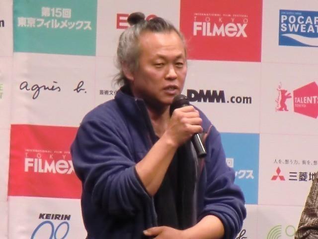 第15回東京フィルメックスでのキム・ギドク監督