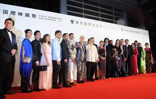 第29回東京国際映画祭開幕!黒木華、蒼井優、高畑充希、杉野希妃らが雨にも負けず笑顔