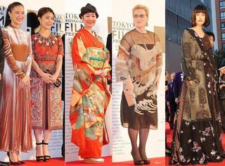 第29回東京国際映画祭 着物や個...