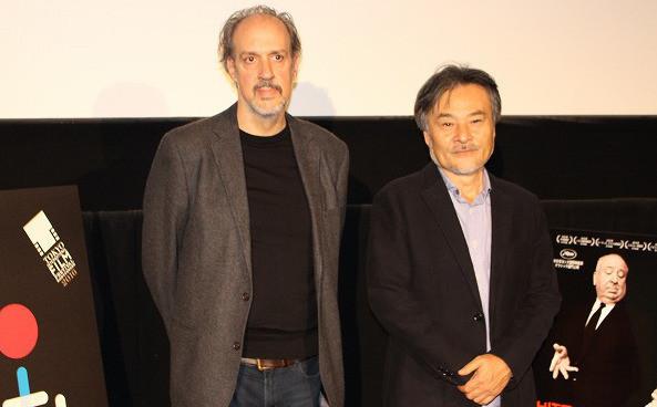 黒沢清監督とケント・ジョーンズ監督