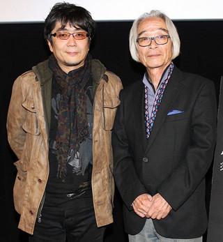 復元を監修したキャメラマンの 宮島正弘氏と大友啓史監督「雨月物語」