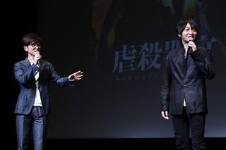 「虐殺器官」17年2月3日公開!中村悠一&櫻井孝宏、完成度に自信