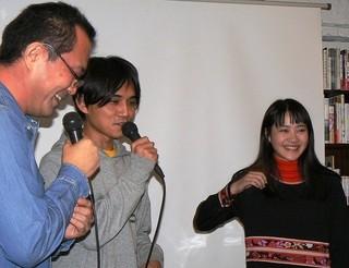 第10回田辺・弁慶映画祭プレイベントで飯塚俊光監督の詩を小川あんが朗読