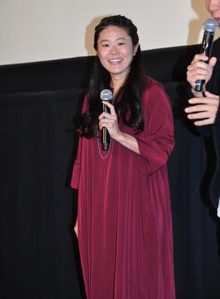 """2カ月後に出産を控える澤穂希、""""いいお産の日""""に舞台挨拶!"""