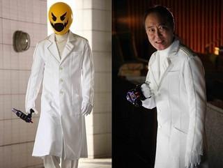 佐野史郎が敵キャラ「Dr.パックマン」を担当!「仮面ライダー平成ジェネレーションズ Dr.パックマン対エグゼイド&ゴーストwithレジェンドライダー」
