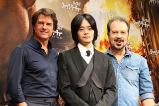 「ラスト サムライ」子役出演の池松壮亮、トム・クルーズ&監督コンビと13年ぶりに再会し感激!
