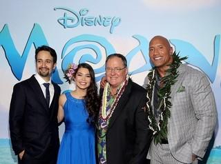 ディズニーアニメ新ヒロインに宮崎駿が影響!「モアナと伝説の海」ワールドプレミア開催