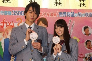 佐藤寛太&美沙玲奈「イタキス」で初キスシーンも気負いなし!「焼肉弁当を食べた後に」