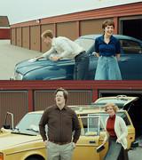 男の意地をかけた愛車対決 ビンテージカーが多数登場する「幸せなひとりぼっち」特別映像