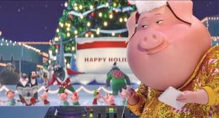 クリスマス気分に火がつく「SING」特別映像が公開