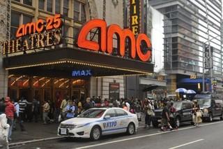 ニューヨーク・タイムズスクエア のAMCエンパイア25