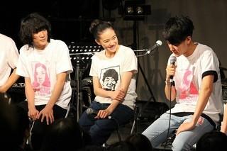 蒼井優、「チャットモンチー」とセッション!「人生で一番緊張した!」