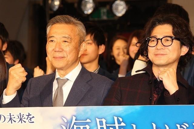 吉岡秀隆と阿部秀司氏