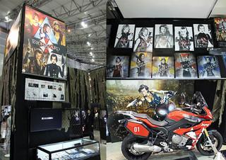 東京コミコン「バイオハザード ザ・ファイナル」展示ブースに潜入!劇中衣装&小道具ずらり