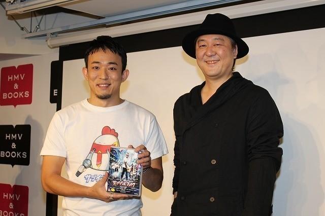 ファンキー加藤と門馬直人監督