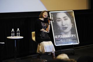 ドキュメンタリー映画のトークイベントに参加した矢野顕子「SUPER FOLK SONG ピアノが愛した女。」
