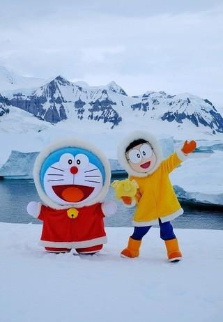ドラえもん&のび太、「映画ドラえもん」第37弾の舞台・南極へ上陸成功!