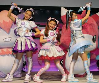 三池崇史が総監督を務めるテレビ東京の女児向け特撮ドラマ「アンドロメディア」